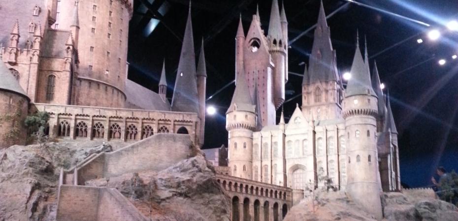 Hogwarts Castle Model in the Warner Brothers Studio