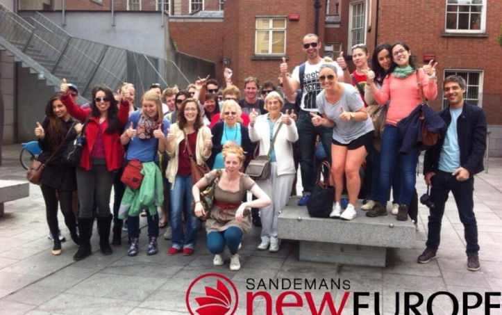 Sandeman's New Dublin Walking Tour in 2014