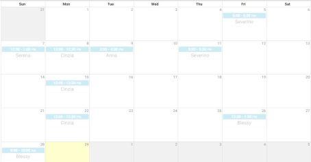 italki calendar