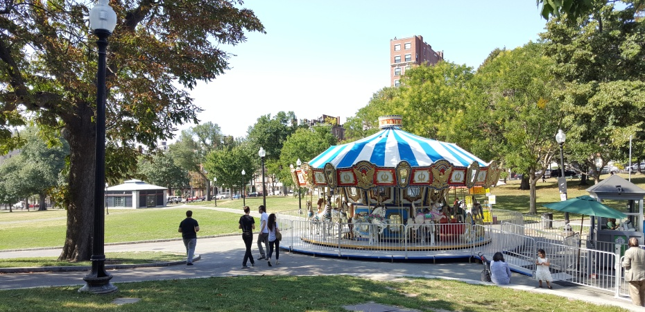 Boston Commons Carousel in the Park