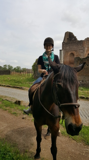 On the Appian Way!