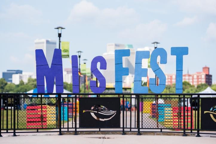 MisFEST sign at Festival Entrance