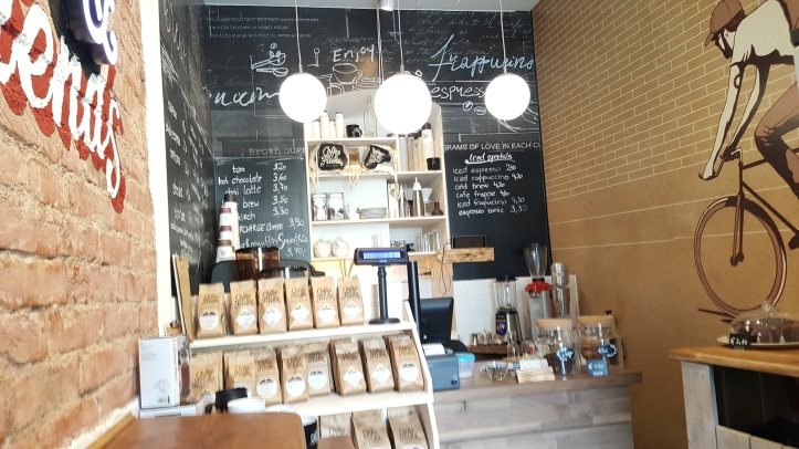 The inside of Coffee & Friends JTP