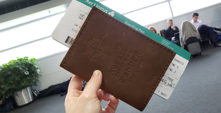 Passport Cover and Boarding Pass